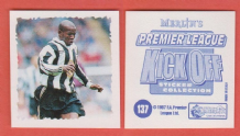 Newcastle United Faustino Asprilla Colombia